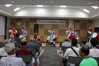 『琉琵遊友会』によるエイサー