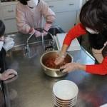 キムチの素の調理